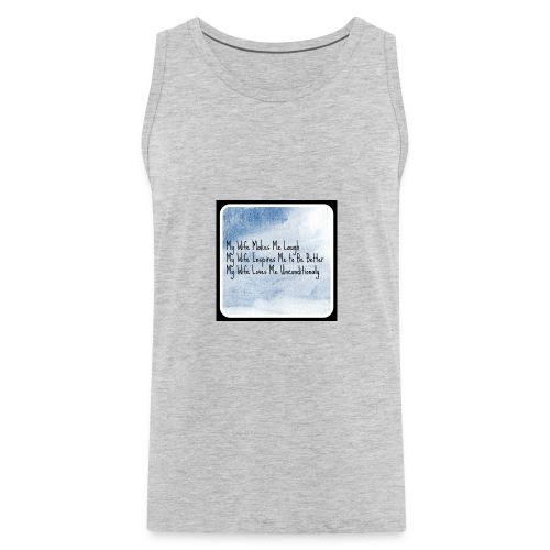 Mens shirt design - Men's Premium Tank