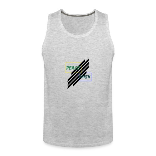 Peace and earth - Men's Premium Tank
