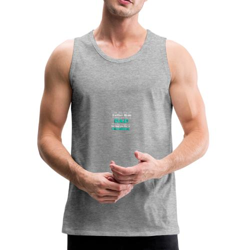 Only the best Dads Get Promoted To Grandpa Father - Men's Premium Tank