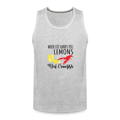 boil crawfish - Men's Premium Tank