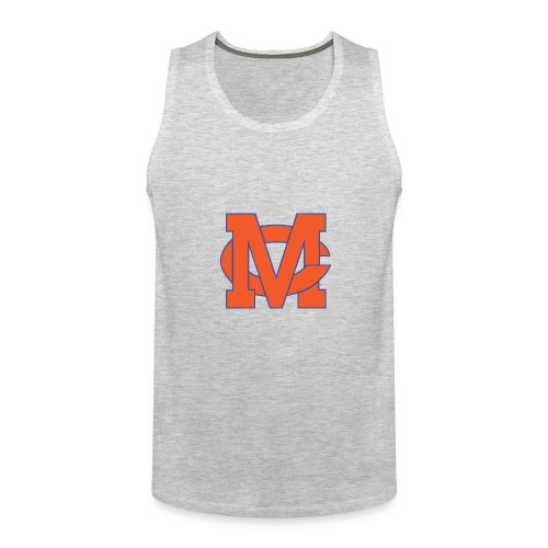 interlocking MC vector - Men's Premium Tank