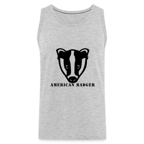 American Badger - Men's Premium Tank