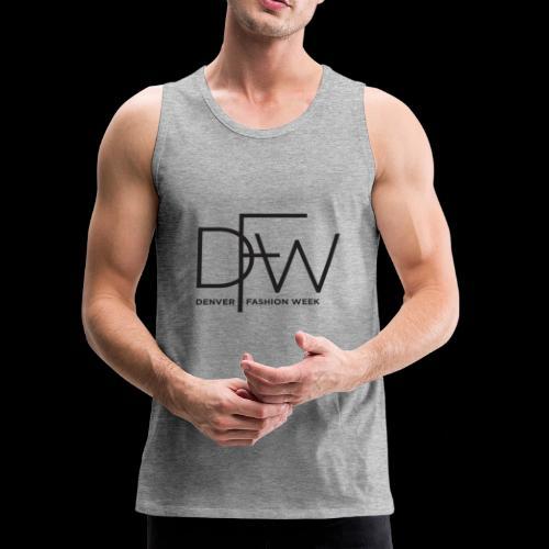 Denver Fashion Week Logo - Men's Premium Tank