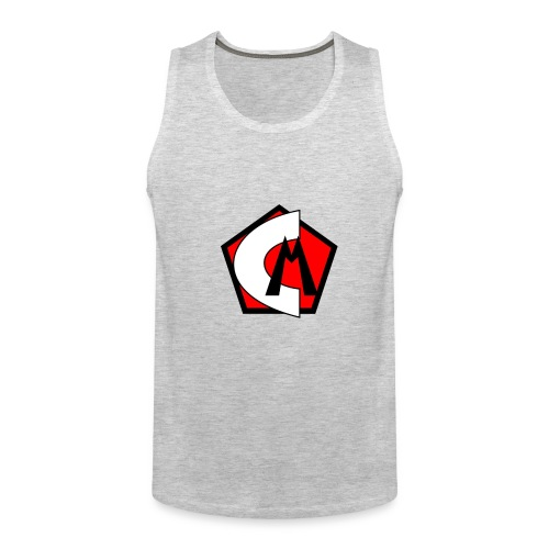 Captain Marvelous Logo - Men's Premium Tank