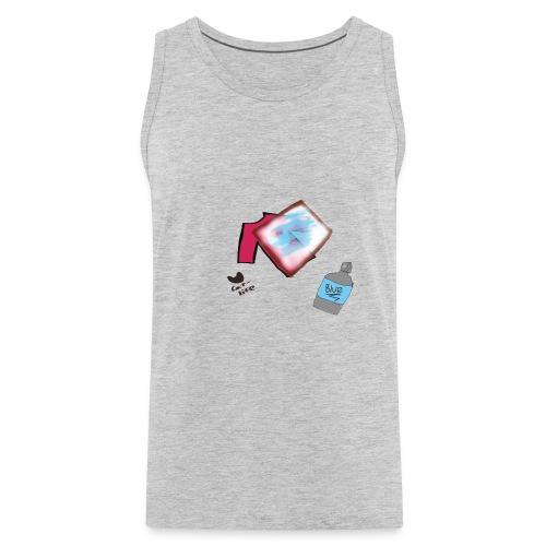 Printing Cat shirt - Men's Premium Tank