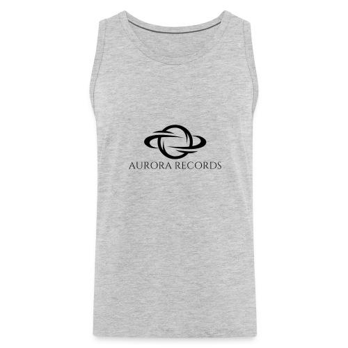 Aurora Records Logo - Men's Premium Tank