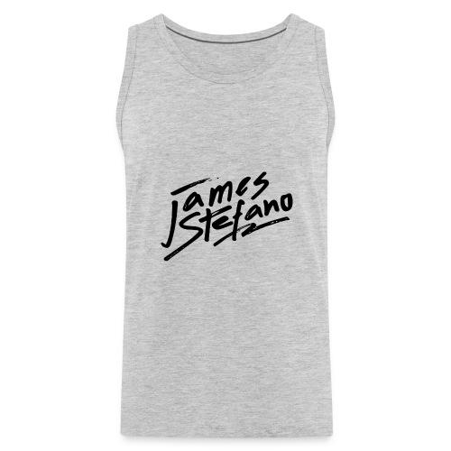 James Stefano 2017 Merchandise Black Logo - Men's Premium Tank