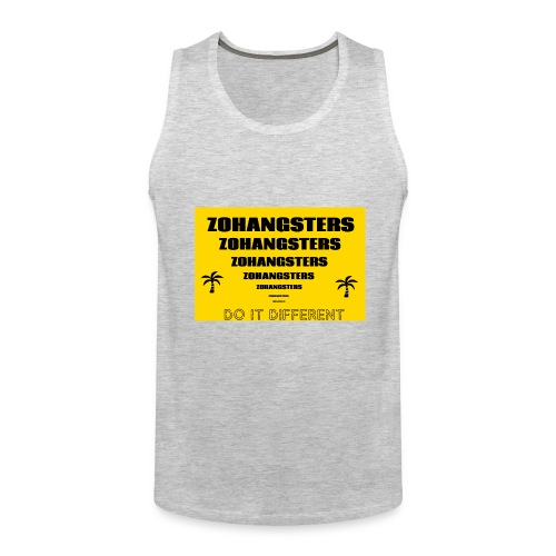 Big To Small ZOHANGSTERS TEE - Men's Premium Tank