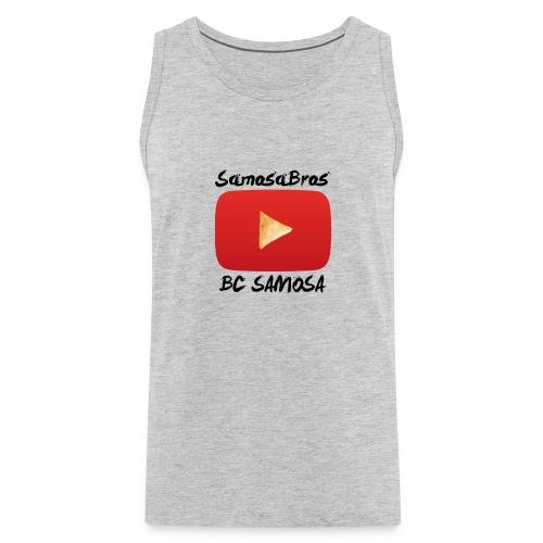 BC SAMOSA LOGO - Men's Premium Tank