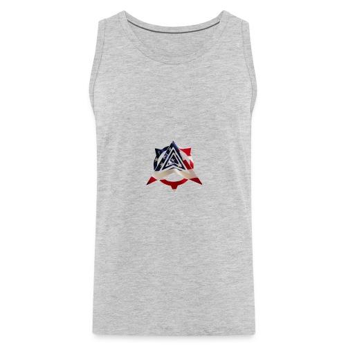 United States Flag - Men's Premium Tank