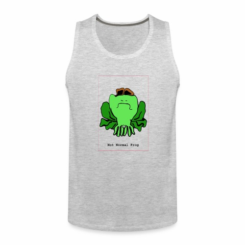 not normal frog - Men's Premium Tank