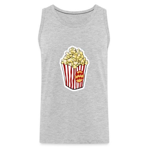 Popcorn Cartoon Pop Corn - Men's Premium Tank
