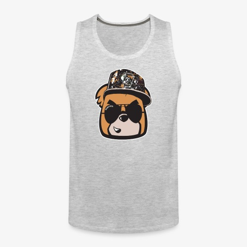 Bearly Fresh FACEONLY - Men's Premium Tank