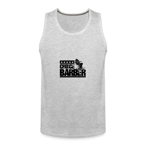 Choice Barber 5-Star Barber - Black - Men's Premium Tank