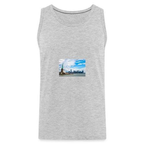 New York Skyline - Men's Premium Tank
