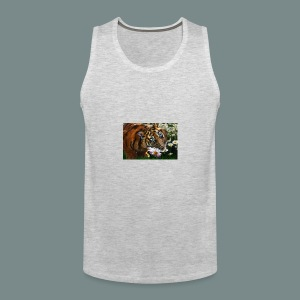 Tiger flo - Men's Premium Tank