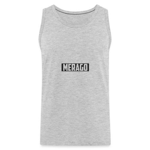 Transparent_Merago_Text - Men's Premium Tank