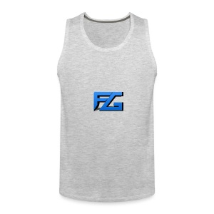 Freeze Gaming Logo - Men's Premium Tank