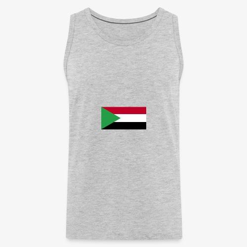 Sudan flag - Men's Premium Tank