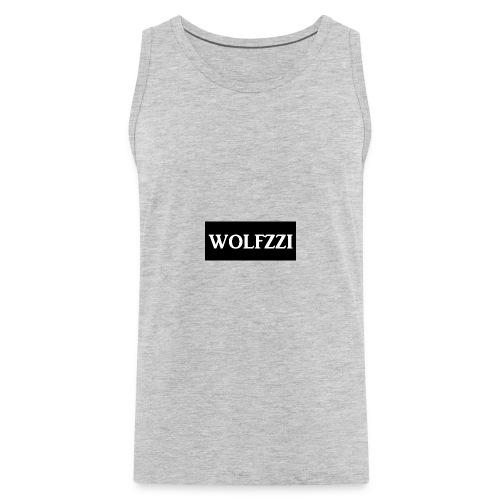 wolfzzishirtlogo - Men's Premium Tank