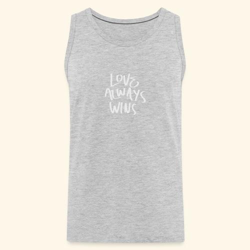 Love Always Wins Swagg - Men's Premium Tank