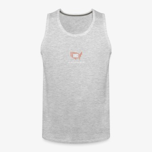 INC Color TransparentBG Red White V - Men's Premium Tank
