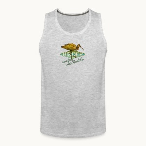 BIRDER - White-faced ibis - Carolyn Sandstrom - Men's Premium Tank