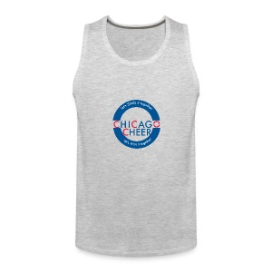 CHICAGO CHEER.com - Men's Premium Tank