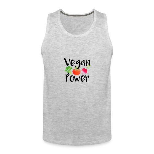 Vegan Power Baby Gift - Men's Premium Tank