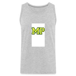 Mp Matthew playz logo long sleeve - Men's Premium Tank