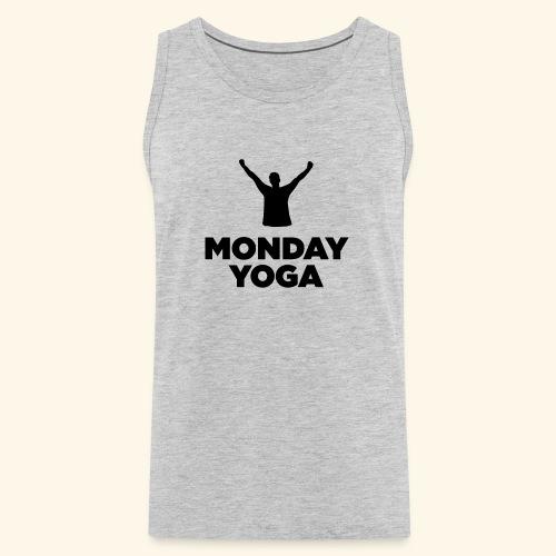 monday yoga - Men's Premium Tank