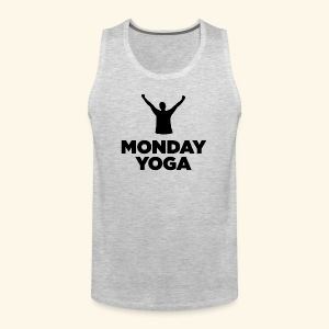 monday yoga - Men's Premium Tank