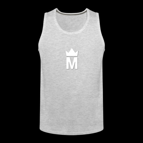 White Majesty Logo - Men's Premium Tank