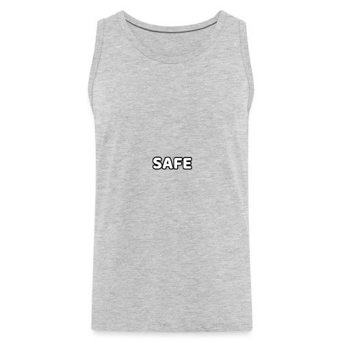 S.A.F.E. CLOTHING MAIN LOGO - Men's Premium Tank