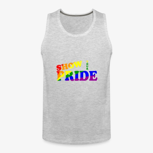 SHOW YOUR PRIDE A - Men's Premium Tank