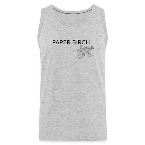 Paper Birch V1 - Men's Premium Tank