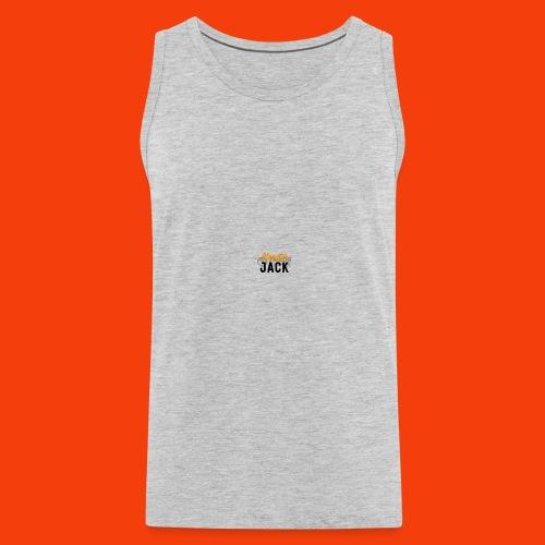 monster jack logo - Men's Premium Tank