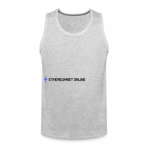 Ethereum Online light darkpng - Men's Premium Tank