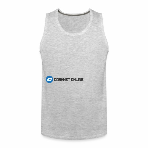 dashnet online dark - Men's Premium Tank