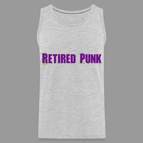 Retired Punk 001 - Men's Premium Tank