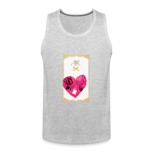 Heart of Economy 1 - Men's Premium Tank