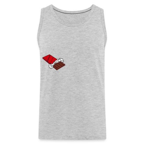 Chocolate Bar T-Shirt - Men's Premium Tank