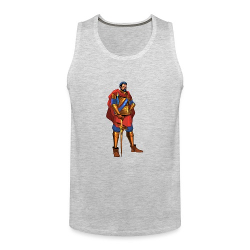 king png - Men's Premium Tank
