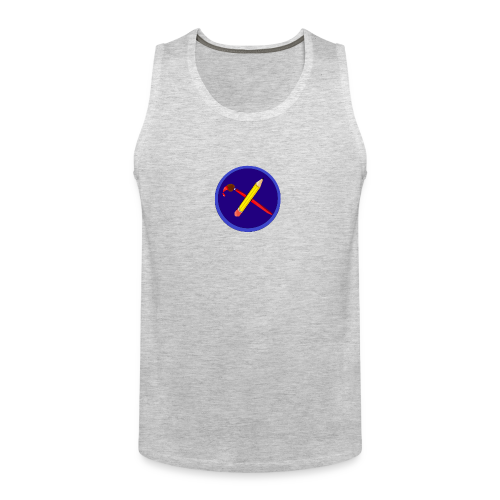 creative playing logo - Men's Premium Tank