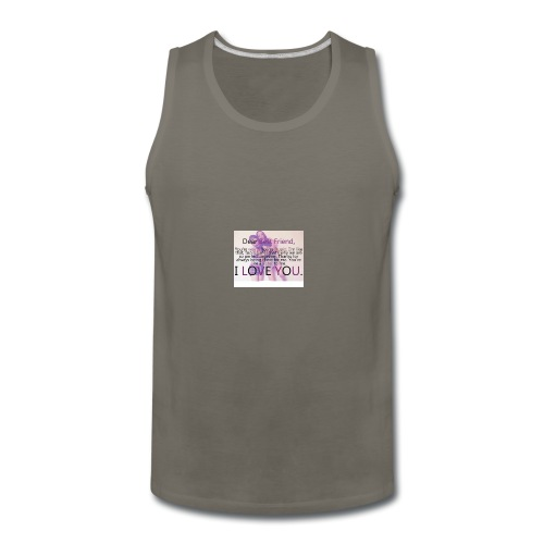Cute best friends - Men's Premium Tank