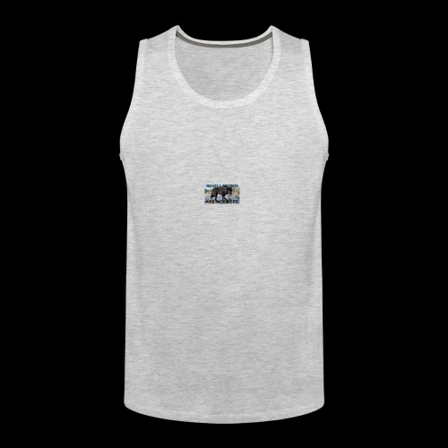 wolves and wolfdogs are not pets - Men's Premium Tank