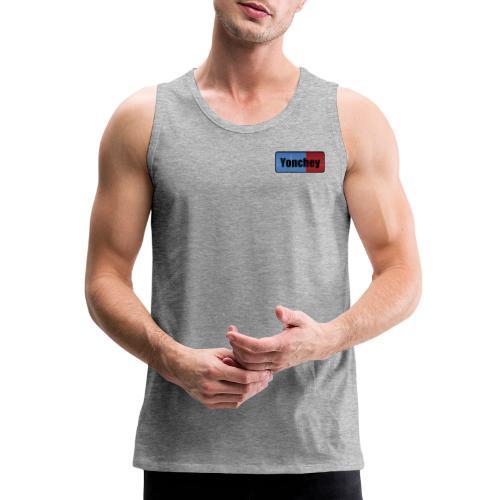 Yonchey logo - Men's Premium Tank