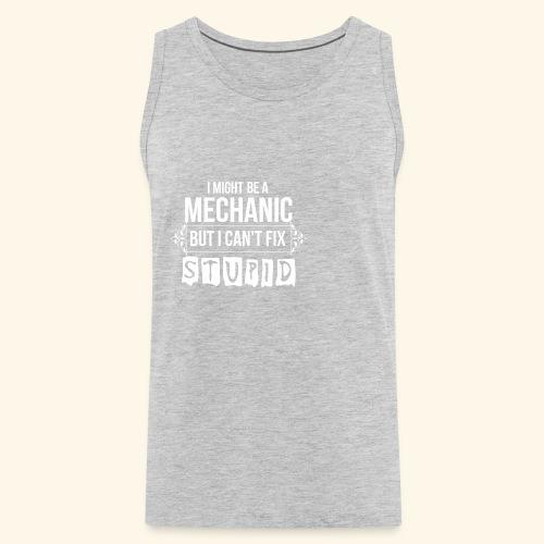 Auto Mechanic T Shirts For Men, Women,Kids,Babies - Men's Premium Tank