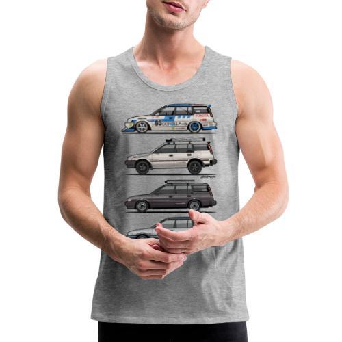design_toyota_corolla_e90 - Men's Premium Tank