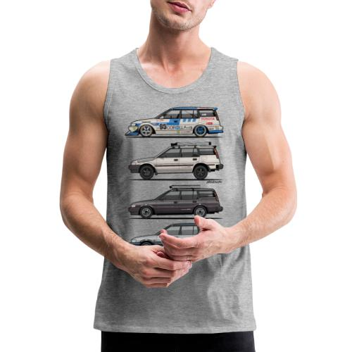 Stack of Toyota Corolla E90 - Men's Premium Tank